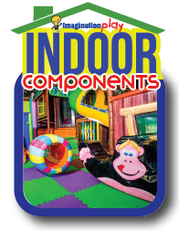 Indoor playground equipment components